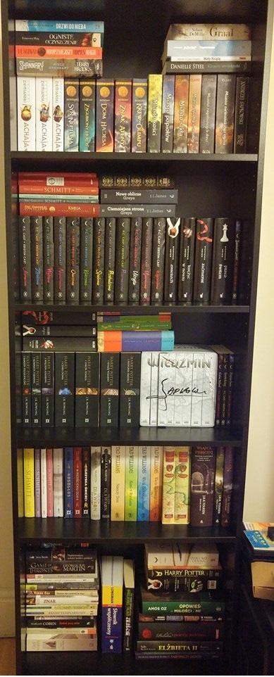 Książki książki książki ! Czy was też tak cieszą? A to tylko część... <3