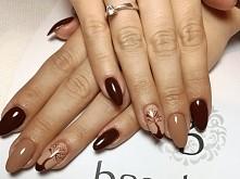 Jesienny manicure :)