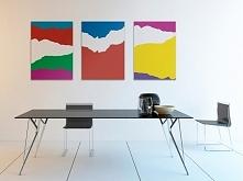 Koncert barw - nowoczesny obraz na płótnie