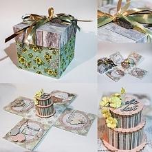 Urodzinowy Exploding Box
