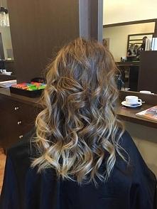 Koloryzaja sombre w wykonaniu Julii. Salon For Hair Warszawa