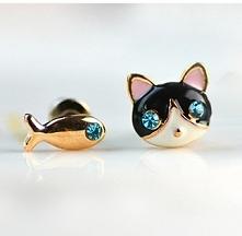 Kotek i rybka- która z Was ...