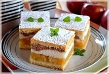 Składniki: Kruche ciasto: 5 żółtek, 3 szkl mąki, 1 kostka margaryny, 3/4 szkl...