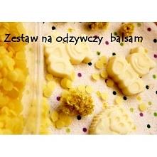 Nowy zestaw w sklepie zrobswojkosmetyk.pl na odżywczy balsam w kostce Skład: olej ze słodkich migdałów, wosk pszczeli, masło mango! Zestaw ten pozwoli na wykonanie balsamowych k...