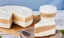 Sernik latte macchiato bez pieczenia ♥♥♥ PYCHOTA ♥ Składniki: spód: 12 sztuk ...