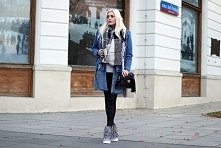 Denim look by @estelle_fashion