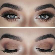Bardzo ładny delikatny makijaż na codzień jak i na specjalne okazje ♡