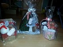 choinka i bałwanki z wełny #prezenty #mikołajki #twojediy