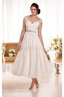 Essense of Australia Short Wedding Dress Style D1957