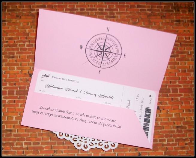 Zaproszenia w formie BILETU LOTNICZEGO :) Masz pytania? Chcesz złożyć zamówienie? Pisz! kraina_czarow@interia.pl