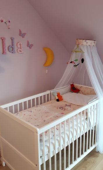 eczko dla dziecka adne literki z imieniem na cianie zdj c na pokoik niemowlaka jak. Black Bedroom Furniture Sets. Home Design Ideas