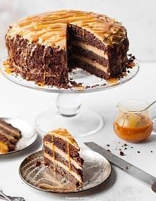 Pycha! TORT BROWNIE Z MASŁE...