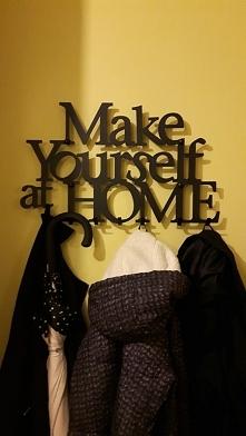 Make yourself at Home - wieszak na ubrania art-steel.pl