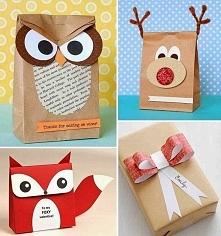 Świetna inspiracja do samodzielnego zapakowania prezentów :)