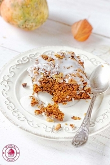 Dyniowe ciasto z kruszonką - Wypieki Beaty