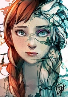 "Elsa i Anna <3  ""Kr..."