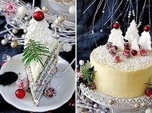 świąteczny torcik Wypieki Beaty