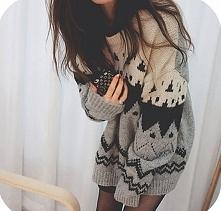 Uwielbiam takiego rodzaju swetry! *.*