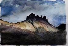 Islandzki krajobraz.