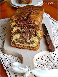 Ciasto marmurkowe z nutellą...