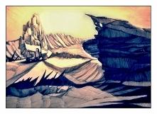 Fantastyczny krajobraz...z innej planety/rzeczywistości/wymiaru :)