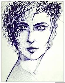 Długopisowa panna