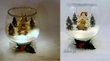 Dekoracja świąteczna-lampion