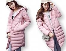 kurtka zimowa damska pikowana płaszcz parka polecam klik na zdjęcie