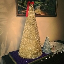 #makaron #chinkazmakaronu #christmastree #świątecznedekoracje #christmasdecor...