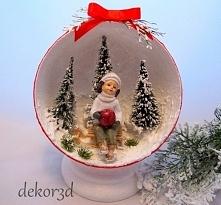 Dekoracja świąteczna zimowa...