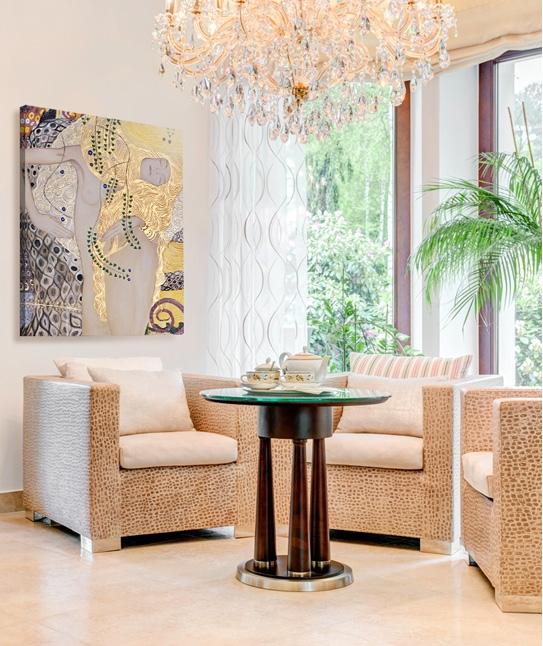 W naszym artykule podpowiadamy, jak urządzić wnętrze w stylu glamour! Kliknij w zdjęcie :)