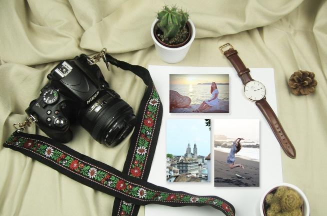 Dla fanów fotografii, w tym dla siebie, zrobiłabym na prezent piękny folkowy pasek do aparatu. To jeden z rewelacyjnych pomysłów DIY, które zachwyci każdego.