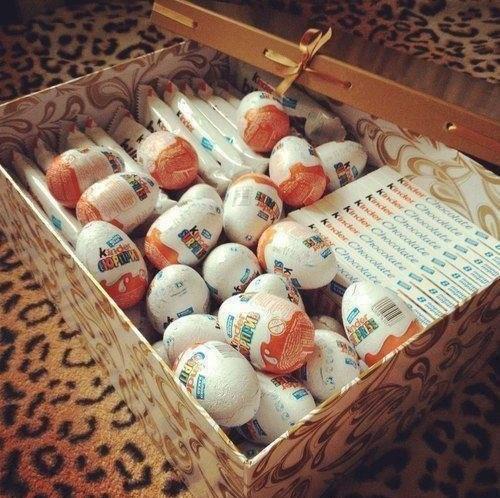 No i pudełko pełne słodkości!!! Przecież to święta <3 czas radości!