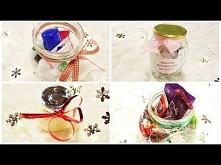 ❄ DIY: prezenty z... SŁOIKA! Słoik dla lubiących malować paznokcie, dla łakomczuchów, słoik z peelingiem domowym oraz herbatkami
