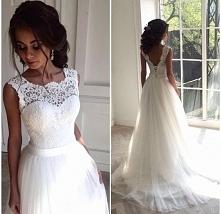 boska suknia ślubna :)