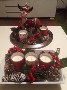 moje dekoracje świąteczne n...