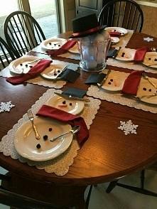 Odliczanie do świąt dzień 3...Taki stół wigilijny planuję mieć w tym roku...A jak wam się podoba ? :D