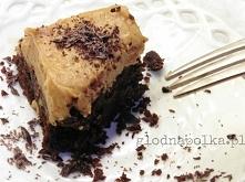 Brownie z masłem orzechowym...