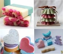 mydełka-bardzo fajny kolory...