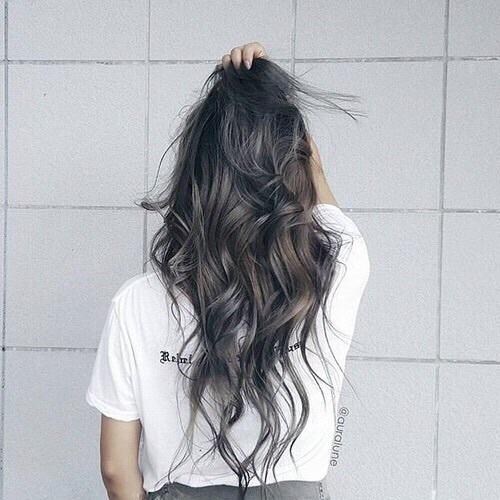szare włosy *.* na Włosy - Zszywka.pl Uberhaxornova Tumblr Long Hair