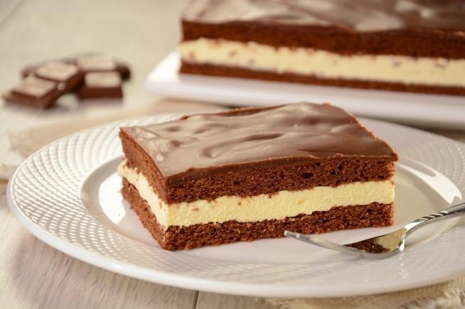 proste ciasto mleczna kanapka