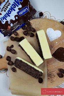 Batoniki czekoladowe (bez pieczenia) <3