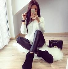 Black&White czyli czarno-biało stylizacja od @raabiosa