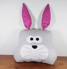 Poduszka królik, wypełnienie antyalergiczne.