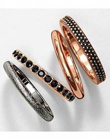 Pomysłów na prezent ciąg dalszy! Pozłacane pierścionki z kryształkami Swarovski 45,99zł