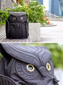 Świetny plecak w kształcie sowy :)