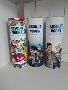 puszki na alkohol Vodka Absolut 700ml na święta, ślub, sylwester, prezent itp .  Różne rodzaje . Nowe .Cena 5zł za puszkę, możliwa wysyłka.