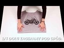 4 sposoby na składanie koszulki - jak to nosić?