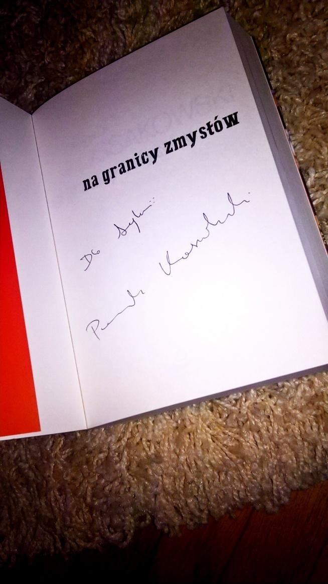 Mówi się, że po przeczytaniu tej książki Przemka Kossakowskiego nic nie będzie już takie samo ale.... po uściśnięciu jego dłoni i wysłuchaniu przeżyć też można odczuć tą niesamowitą magie