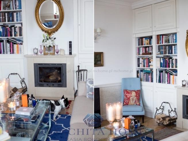 Salon w stylu Modern Classic Home